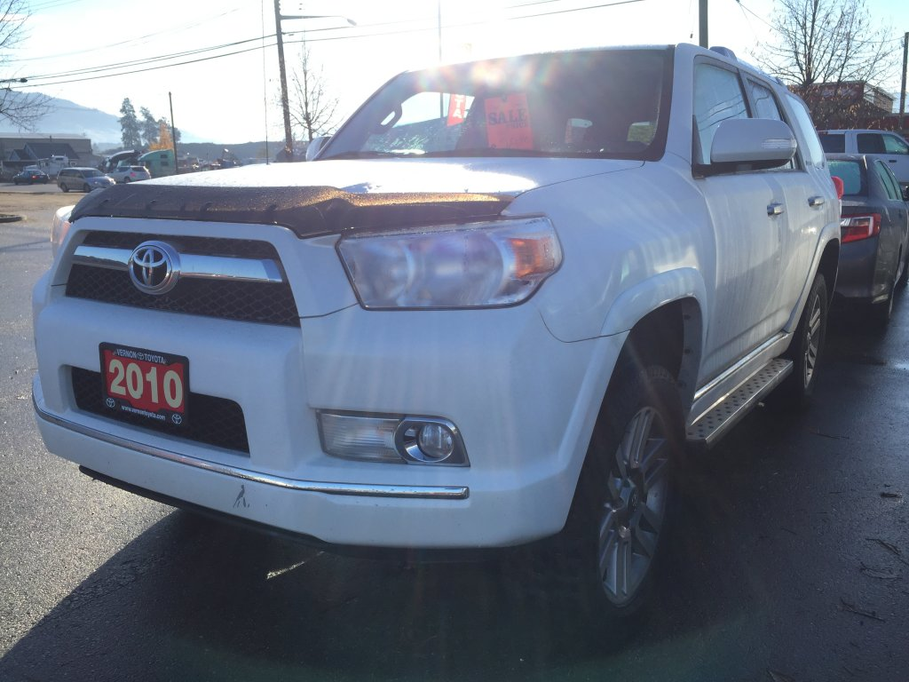 2010 toyota 4 runner for sale in vernon bc used toyota sales. Black Bedroom Furniture Sets. Home Design Ideas
