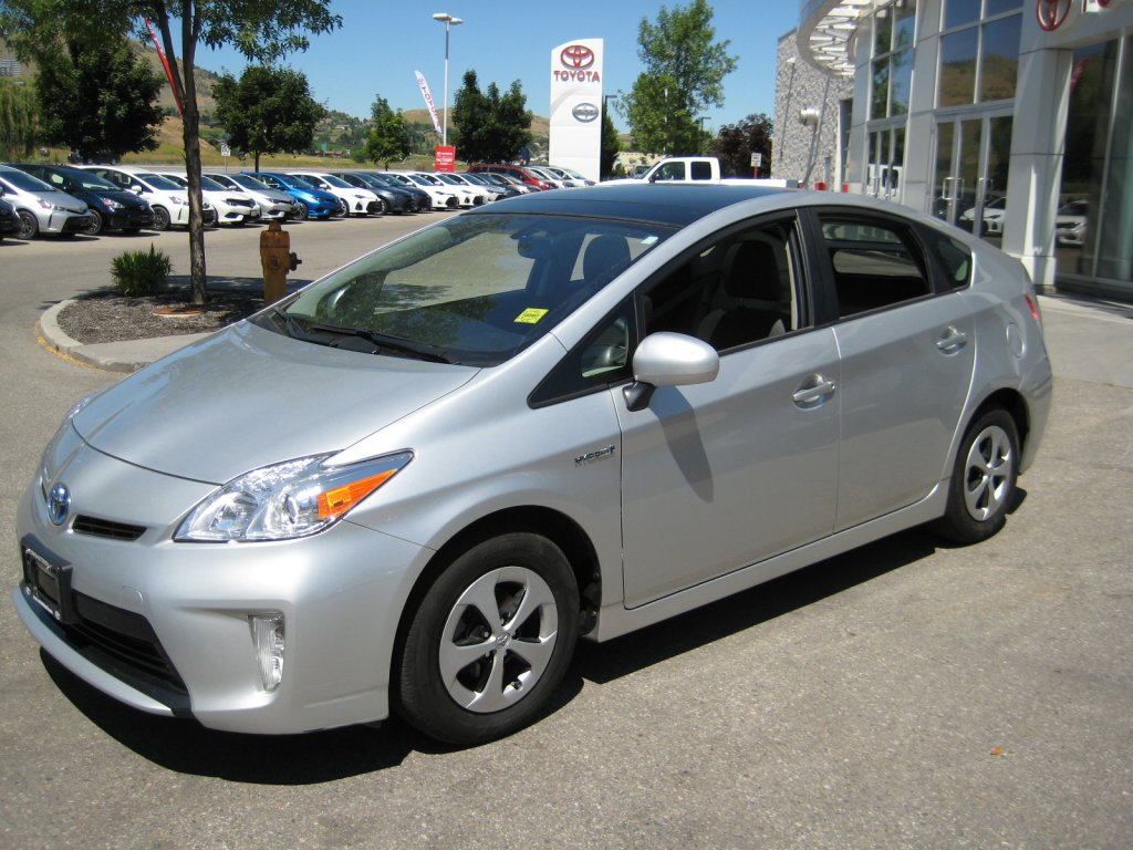 2013 Toyota Prius SOLAR UPGRADE PACKAGE