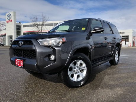 2016 Toyota 4runner SR5 LEATHER SUNROOF