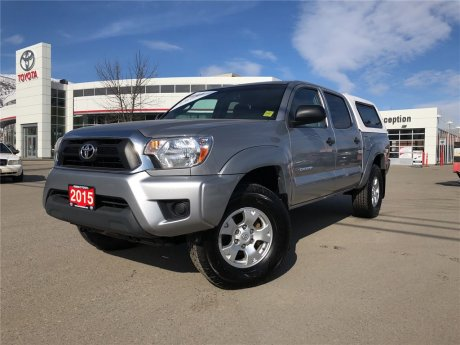 2015 Toyota Tacoma Double Cab SR5 Manual