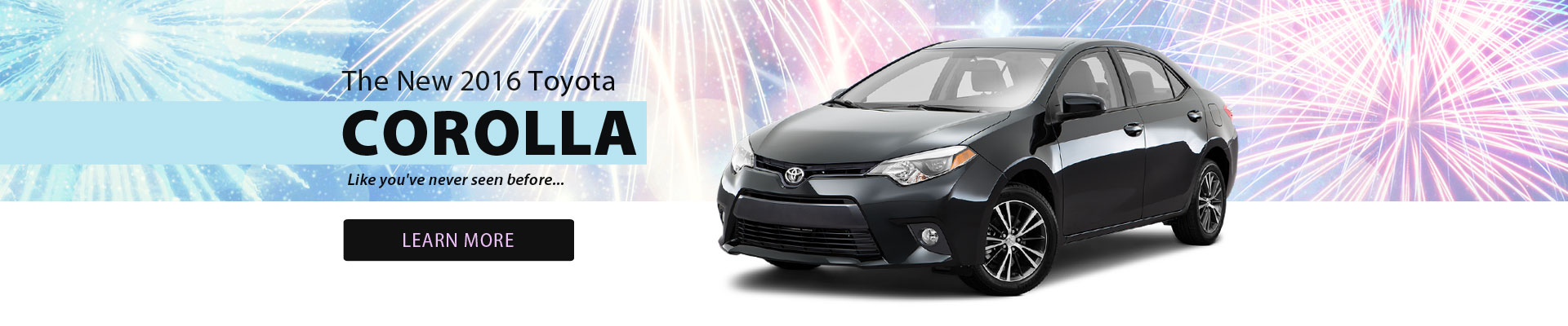 The new 2016 Corolla like you've never seen before