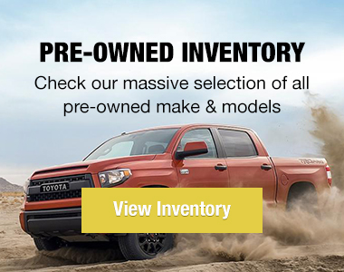 Pre-owned inventory. Check out our massive selection of all pre-owned makes and models