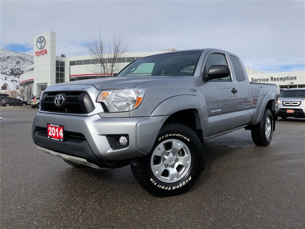2014 toyota tacoma for sale in vernon bc serving lumby used toyota sales. Black Bedroom Furniture Sets. Home Design Ideas
