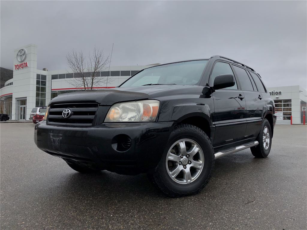 2004 Toyota Highlander SPORT AWD LEATHER