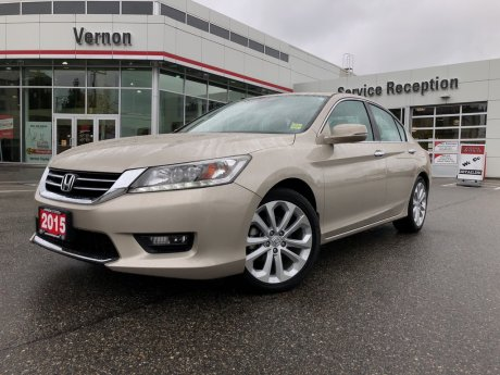 2015 Honda ACCORD TOURING V6 LEATHER SUNROOF