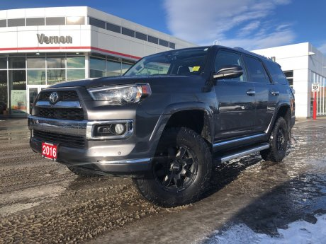2016 Toyota 4runner LIMITED LIFTED