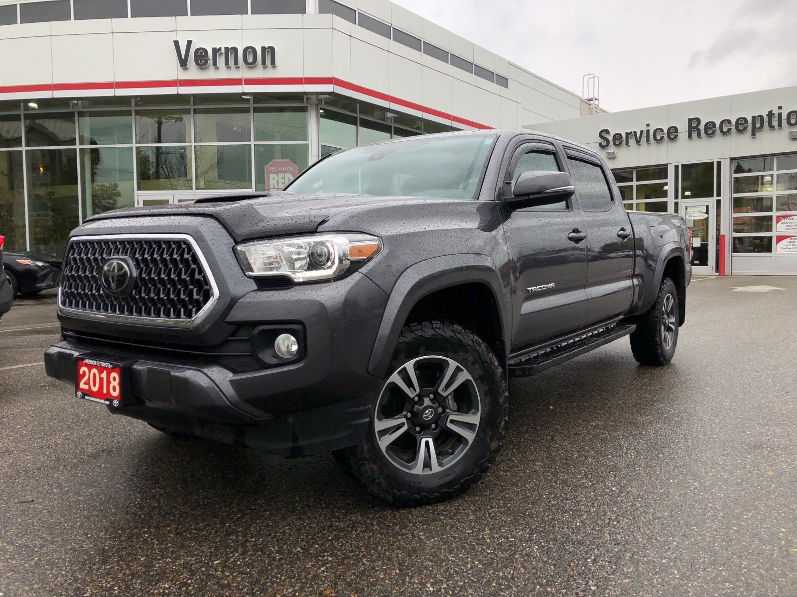 2018 Toyota Tacoma 4x4 TRD SPORT PREMIUM LEATHER SUNROOF (V2995A) Main Image